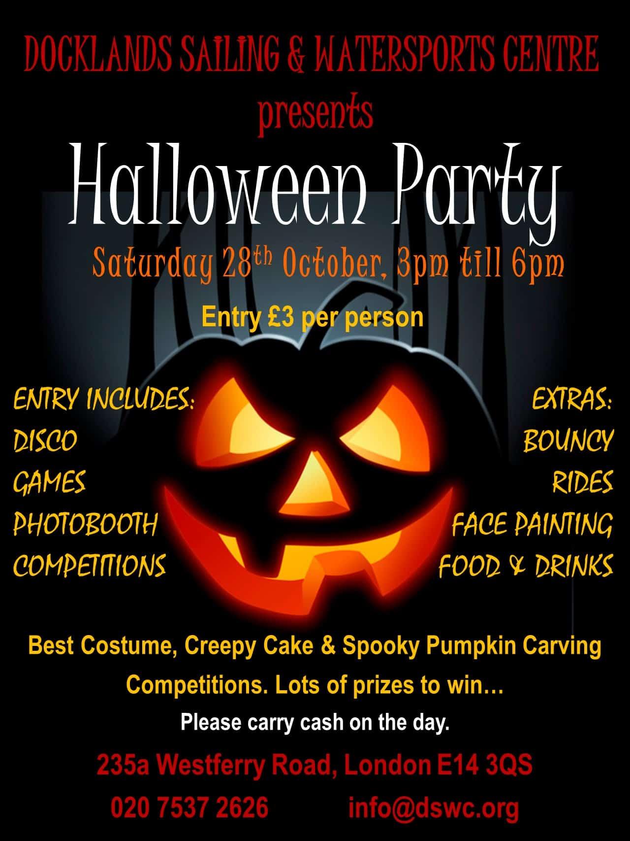 DSWC Halloween Party 2017 | DSWC